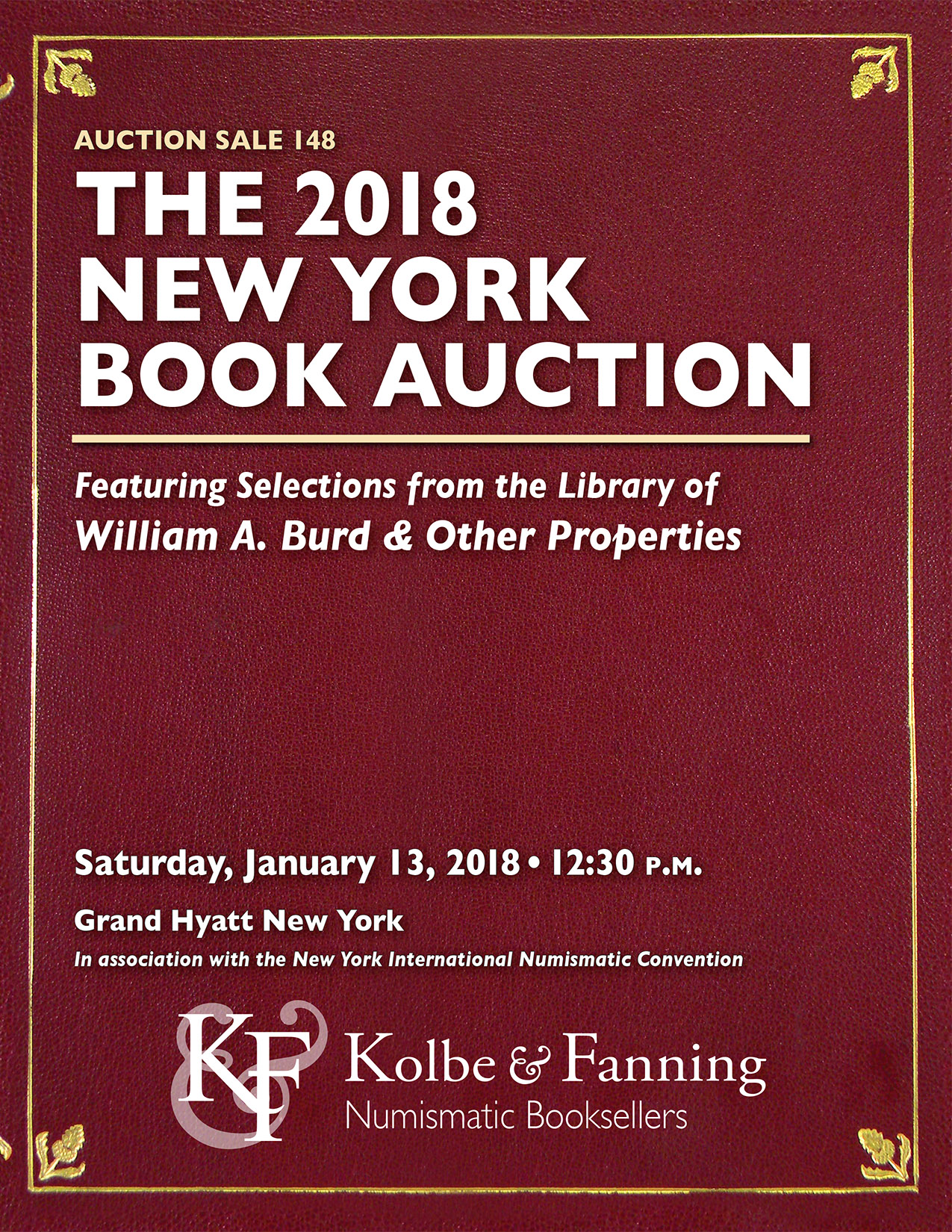 2018 New York Book Auction