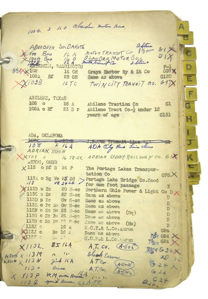 THE KENWORTHY-DUNN CHECK LIST. R. W. Dunn, continuing the work of Frank C. Kenworthy.