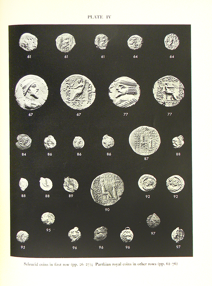 COINS FROM SELEUCIA ON THE TIGRIS. Robert Harbold McDowell.