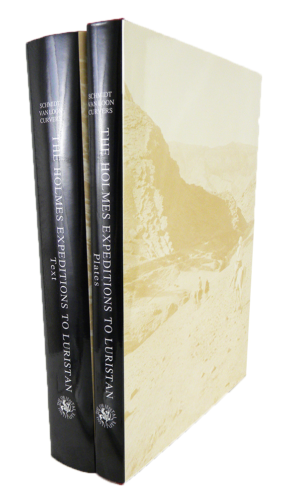 THE HOLMES EXPEDITIONS TO LURISTAN. TEXT AND PLATE VOLUMES. Erich F. Schmidt, Maurits N. van Loon, Hans H. Curvers.