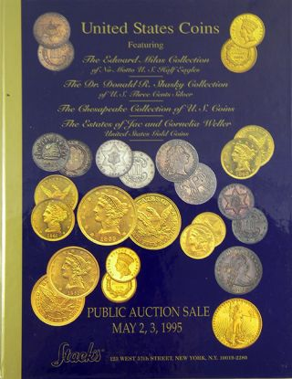 UNITED STATES COINS. FEATURING THE EDWARD MILAS COLLECTION OF NO MOTTO U.S. HALF EAGLES.; THE DR....