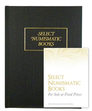SELECT NUMISMATIC BOOKS FOR SALE AT FIXED PRICES. Kolbe, Fanning