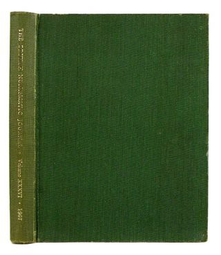 THE BRITISH NUMISMATIC JOURNAL AND PROCEEDINGS OF THE BRITISH NUMISMATIC SOCIETY 1967. Volume...