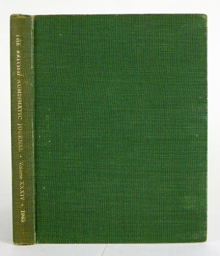 THE BRITISH NUMISMATIC JOURNAL AND PROCEEDINGS OF THE BRITISH NUMISMATIC SOCIETY 1965. Volume...