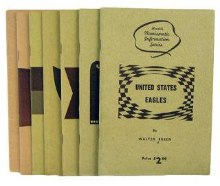 MONOGRAPHS ON U.S. GOLD DIE VARIETIES. Walter Breen