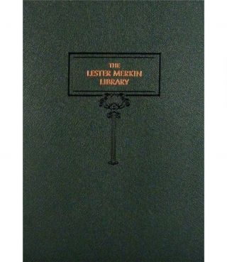 THE LESTER MERKIN LIBRARY. A CATALOGUE OF RARE AND IMPORTANT NUMISMATIC BOOKS ON AMERICAN COINS,...