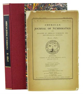 AMERICAN JOURNAL OF NUMISMATICS. VOL. 11. Boston Numismatic Society