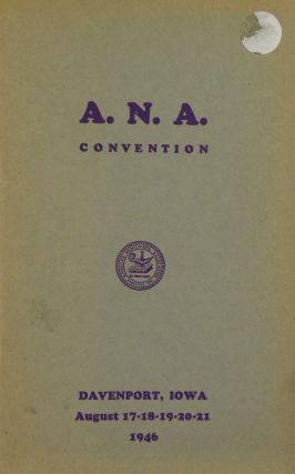 1946 ANA CONVENTION SALE). A. Kosoff, Abner Kreisberg, Numismatic Gallery