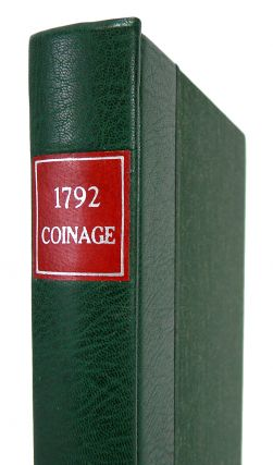 1792: BIRTH OF A NATION'S COINAGE.; Special Edition