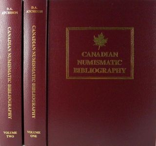 CANADIAN NUMISMATIC BIBLIOGRAPHY