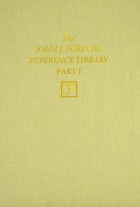 NUMISMATICA AMERICANA. THE JOHN J. FORD, JR. REFERENCE LIBRARY. PART ONE. in association,...