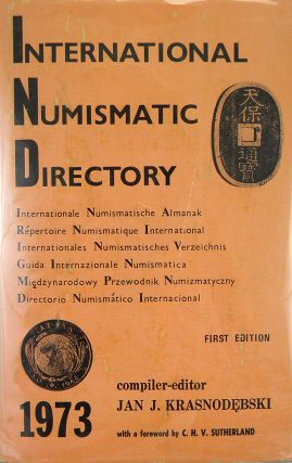 INTERNATIONAL NUMISMATIC DIRECTORY. Jan J. Krasnodebski