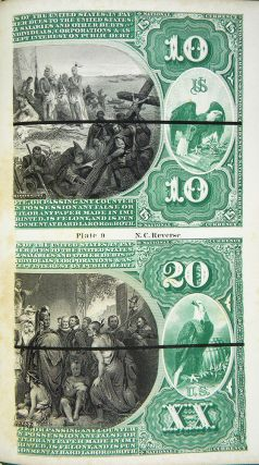 HEATH'S INFALLIBLE COUNTERFEIT DETECTOR, AT SIGHT. ILLUSTRATED WITH ENTIRE NEW PLATES OF BOTH GREENBACKS AND NATIONAL BANK NOTES...