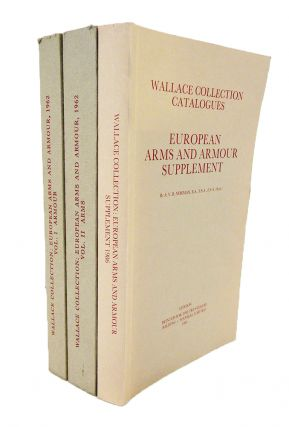 EUROPEAN ARMS AND ARMOUR. TEXT WITH HISTORICAL NOTES AND ILLUSTRATIONS. VOLUME I: ARMOUR [with] VOLUME II: ARMS.