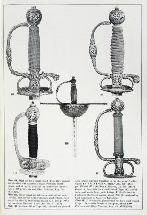 THE RAPIER AND SMALL-SWORD 1460–1820.