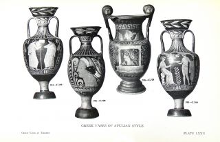 A CATALOGUE OF THE GREEK VASES IN THE ROYAL ONTARIO MUSEUM OF ARCHAEOLOGY TORONTO. VOLUMES I (TEXT AND DRAWINGS) & II (PLATES).